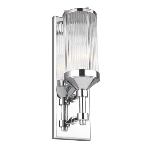 Feiss Paulson 1Lt Wall Light Chrome FE/PAULSON1