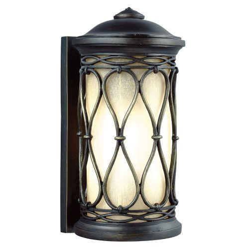 Feiss FE/WELLFLEET/S Wellfleet 1Lt Aged Bronze Outdoor Wall Lantern
