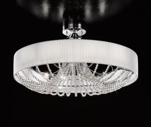Kolarz Gioiosa 12Lt Crystal Semi-Flush Ceiling Light