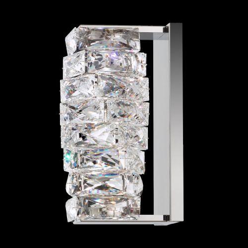 Swarovski STW110 Glissando LED Crystal Wall Light Stainless Steel Frame