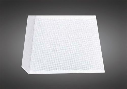 Mantra M5324 Habana White Square Shade 240 240x 165mm Suitable for Table Lamps