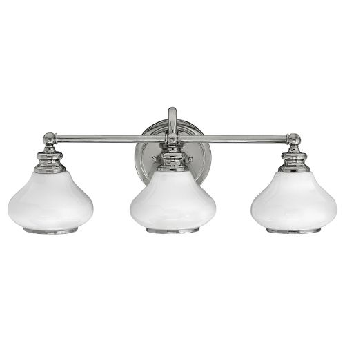 Hinkley Ainsley 3lt Bathroom Wall Light Polished Chrome ELS/HK/AINSLEY3 BATH