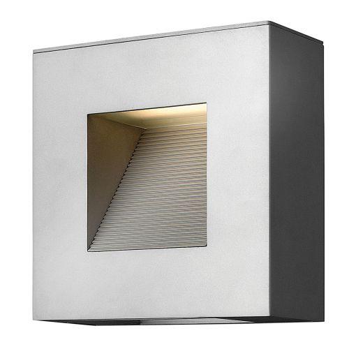 Hinkley Luna LED Wall Light Titanium ELS/HK/LUNA/S TT Solid Aluminium