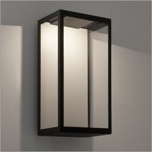 Astro Puzzle LED Outdoor Wall Light 1199001 Black Frame