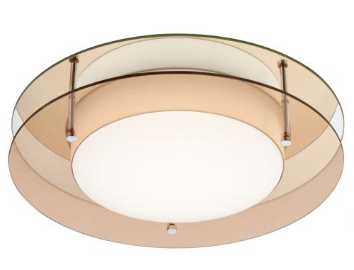 Bathroom Ceiling LED Light Fitting Amber Mirror Lekki Bellamy LEK3032