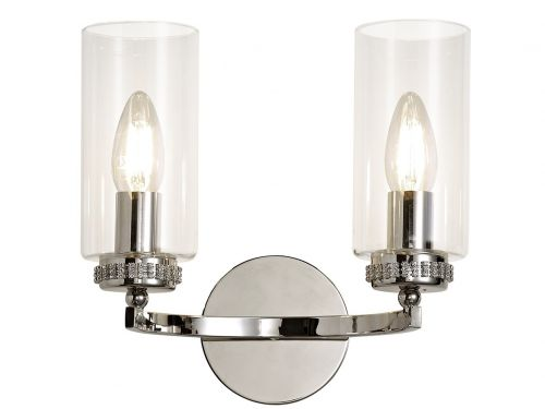 Switched Wall Lamp Nickel Lekki Dyani LEK3089