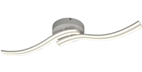 LED Ceiling Fitting 2 Light White Lekki Joka LEK3133