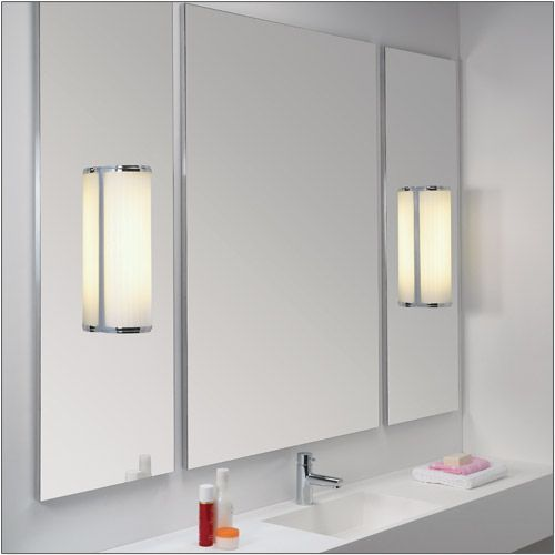 Astro Monza Classic 250 Polished Chrome Bathroom Wall Light 0952