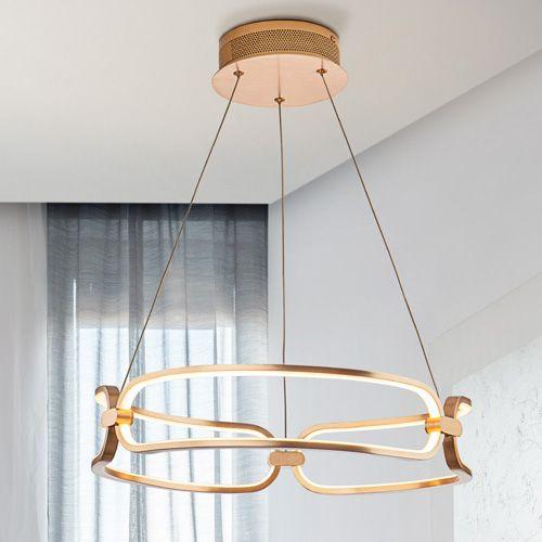 Schuller Colette 786621 LED Small Ceiling Pendant Golden Frame