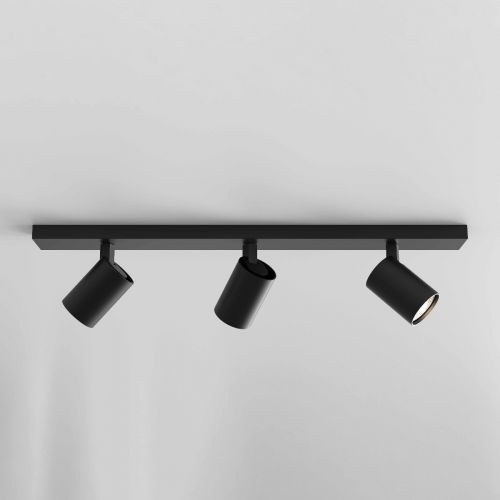 Astro 1286083 Ascoli 3 Light Bar Spotlight Matt Black Frame