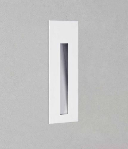Astro 1212045 Borgo 55 LED Recessed Wall Light Matt White Frame