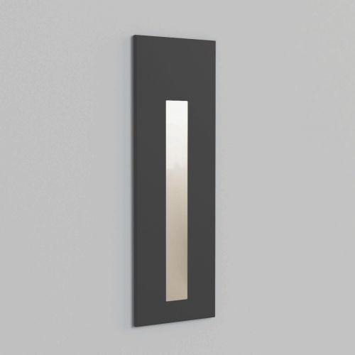 Astro 1212049 Borgo 55 LED Recessed Wall Light Textured Black Frame