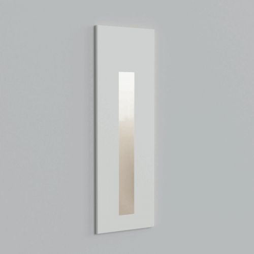 Astro 1212050 Borgo 55 LED Recessed Wall Light Textured White Frame