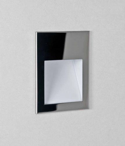 Astro 1212046 Borgo 90 LED Recessed Wall Light Polished Stainless Steel Frame