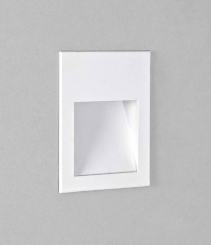 Astro 1212048 Borgo 90 LED Recessed Wall Light Matt White Frame