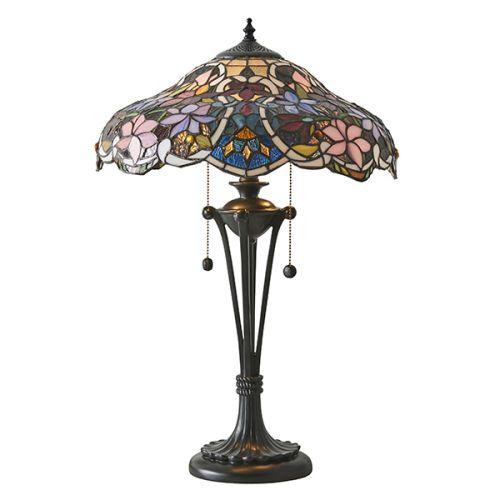 Interiors 1900 Sullivan 64326 Tiffany Medium Sized Table Lamp
