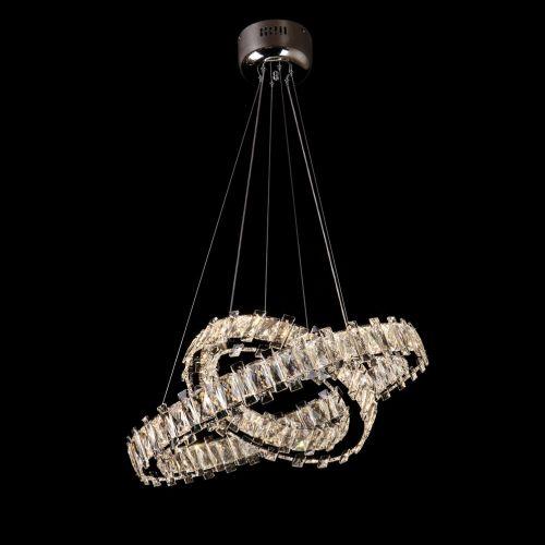 Crystal LED Pendant Light Fitting Lekki Eden LEK110011