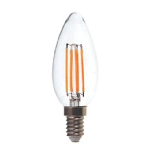 Candle LED Lamp 6W SES / E14 Cap Non-Dimmable Warm White 2700K