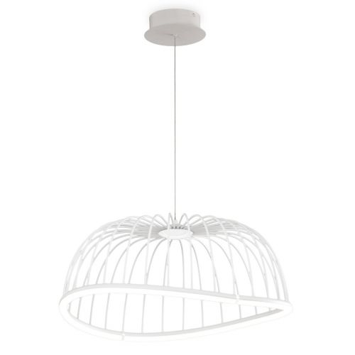 Mantra M6681 Celeste Medium Ceiling LED White Pendant