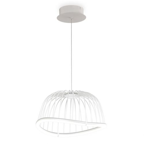 Mantra M6682 Celeste Small Ceiling LED White Pendant