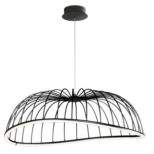 Mantra M6683 Celeste Large Ceiling LED Black Pendant