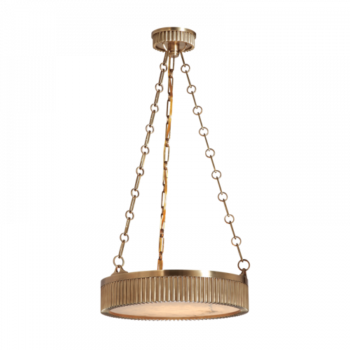 Ceiling Pendant 4 Light Aged Brass Hudson Valley Lynden 516-AGB-CE