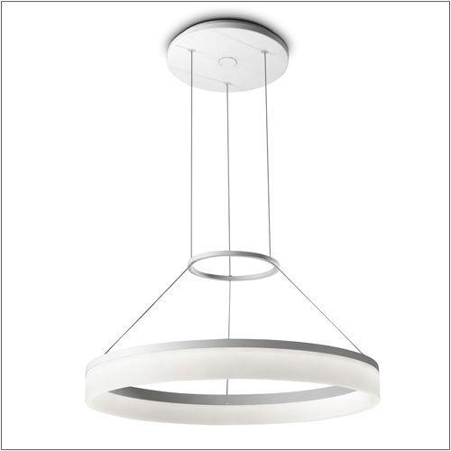 Grok Circ Dimmable Designer LED Pendant 00-0641-BW-M3