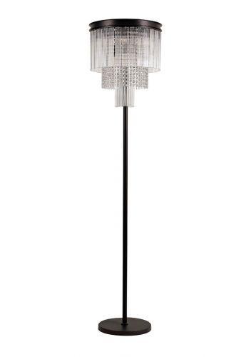 Floor Lamp 9 Light Brown Oxide Alanah LEK3506