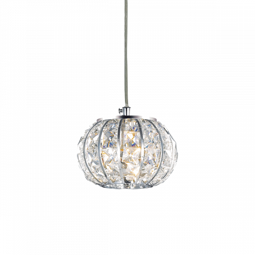 Ideal Lux Calypso Chandelier 1 Luce Chrome IDE/044187
