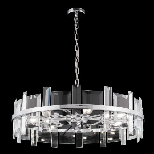 Maytoni Cerezo Modern 7 Light Ceiling Pendant Fitting Chrome MOD201PL-07N