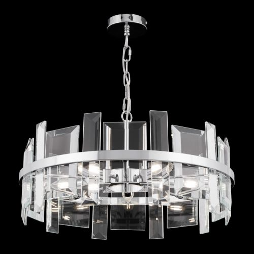 Maytoni Cerezo Modern 5 Light Ceiling Pendant Fitting Chrome MOD201PL-05N