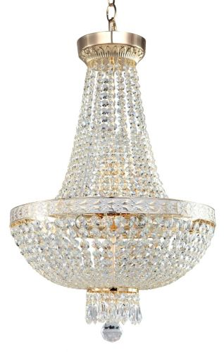 Maytoni Bella Royal Classic 6 Light Chandelier Gold DIA750-TT40-WG