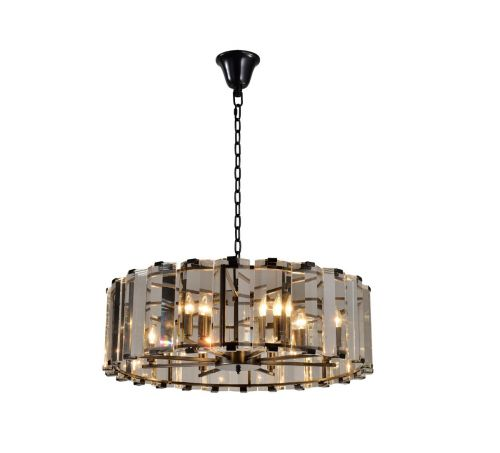 Avivo Elegante AVI/PD2708-8A ORB 8 Light Ceiling Pendant Black