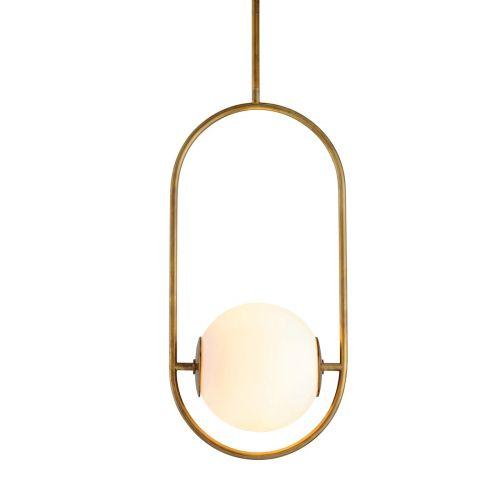 Corbett 1 Light Pendant Vintage Brass Medium Everley 273-42-CE