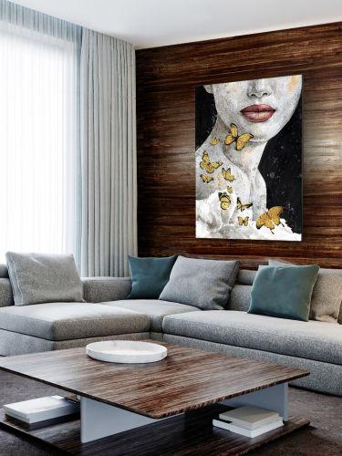 Imagine Acrylic Wall Art