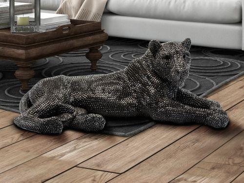 Leona Lioness Large Decorative Figure Black