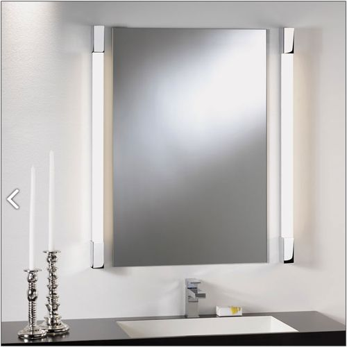 Astro Romano 600 High Output Bathroom Wall Light 0999 Polished Chrome