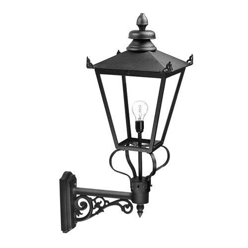 Elstead Wilmslow 1 Light Black Wall Lantern WSLB1/BLK