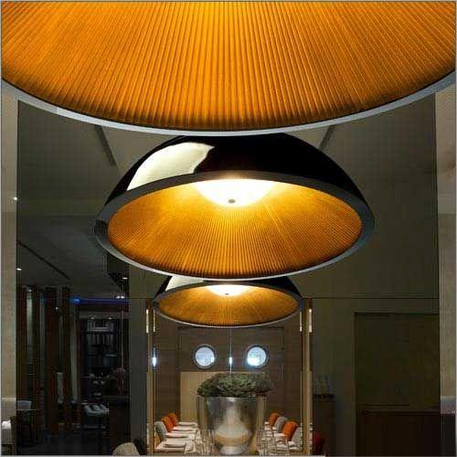 Grok Umbrella Black Energy Saving Ceiling Light 00-2727-AP-05