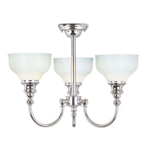 Elstead Cheadle 3-Light Bathroom Ceiling Light BATH/CD3
