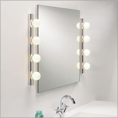 Astro Cabaret Polished Chrome Bathroom Wall light 1087002