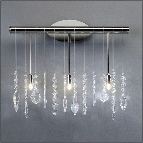 Kolarz Stretta 3 Light Wall Light With Crystal Options 104.63.5