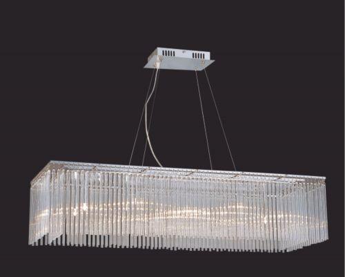 Diyas Zanthe Polished Chrome 10 Light Pendant IL30012/G9