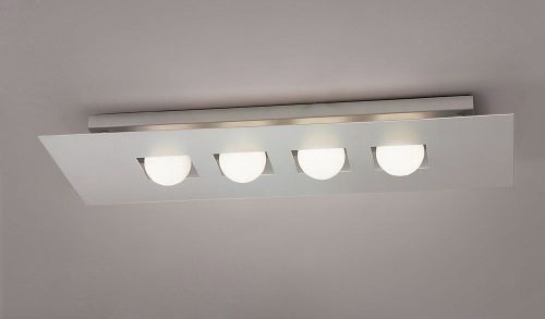 Mantra Cocoon Silver 4 Light Ceiling Fitting M0129