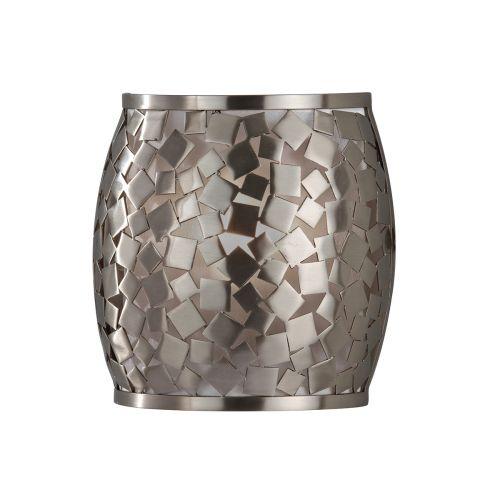 Feiss FE/ZARA1 Zara 1Lt Brushed Steel Wall Light