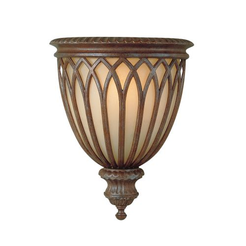 Feiss Stirling Castle Bronze Finish Wall Light Uplighter FE/STIRLINGCASW1