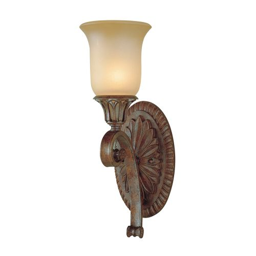Feiss Stirling Castle 1 Light Bronze Wall Light FE/STIRLINGCAS1