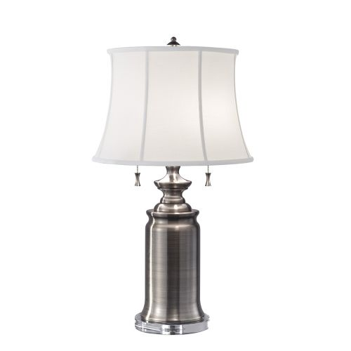 Feiss State Room Antique Nickel Switched Table Lamp FE/STATERM TL AN