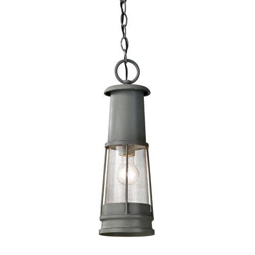 Feiss Chelsea Harbor Storm Cloud Grey Finish Pendant FE/CHELSEAHBR8