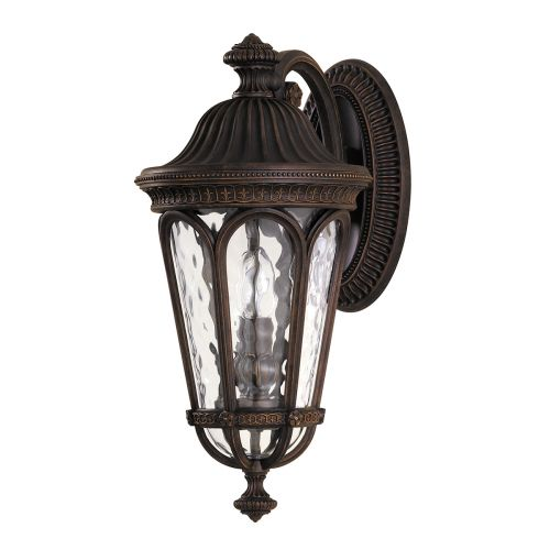 Feiss Regent Court Outdoor Walnut Medium Wall Lantern FE/REGENTCT/M